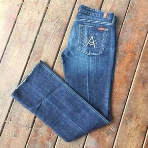 7 for all Mankind Womens Jeans 32 denim